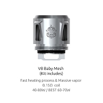 TFV8 Baby Mesh Coil .15ohm (1 Coil)