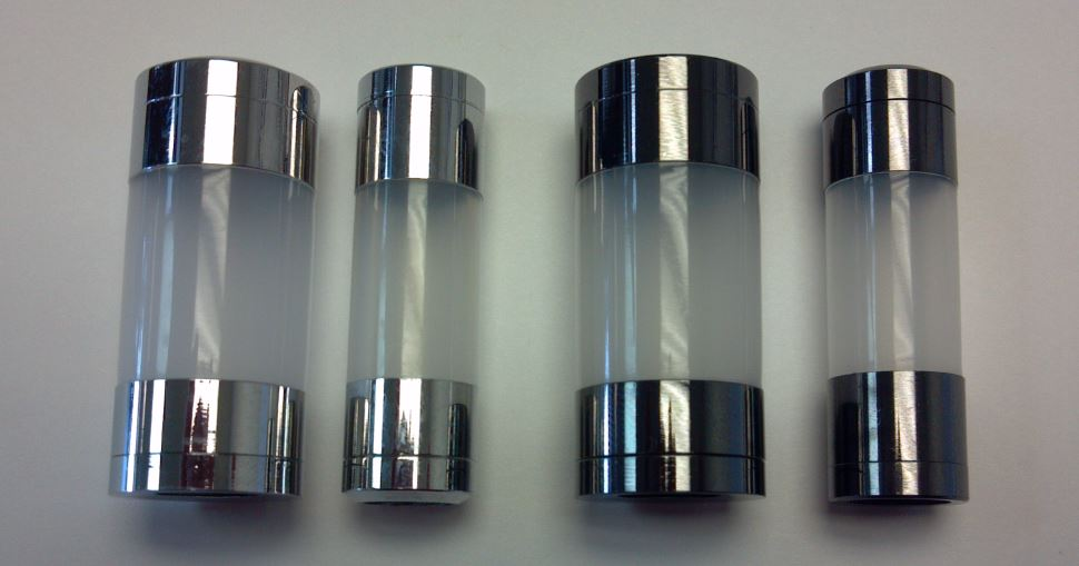 Glass Cartomizer Tank Locking Tank Etched Glass