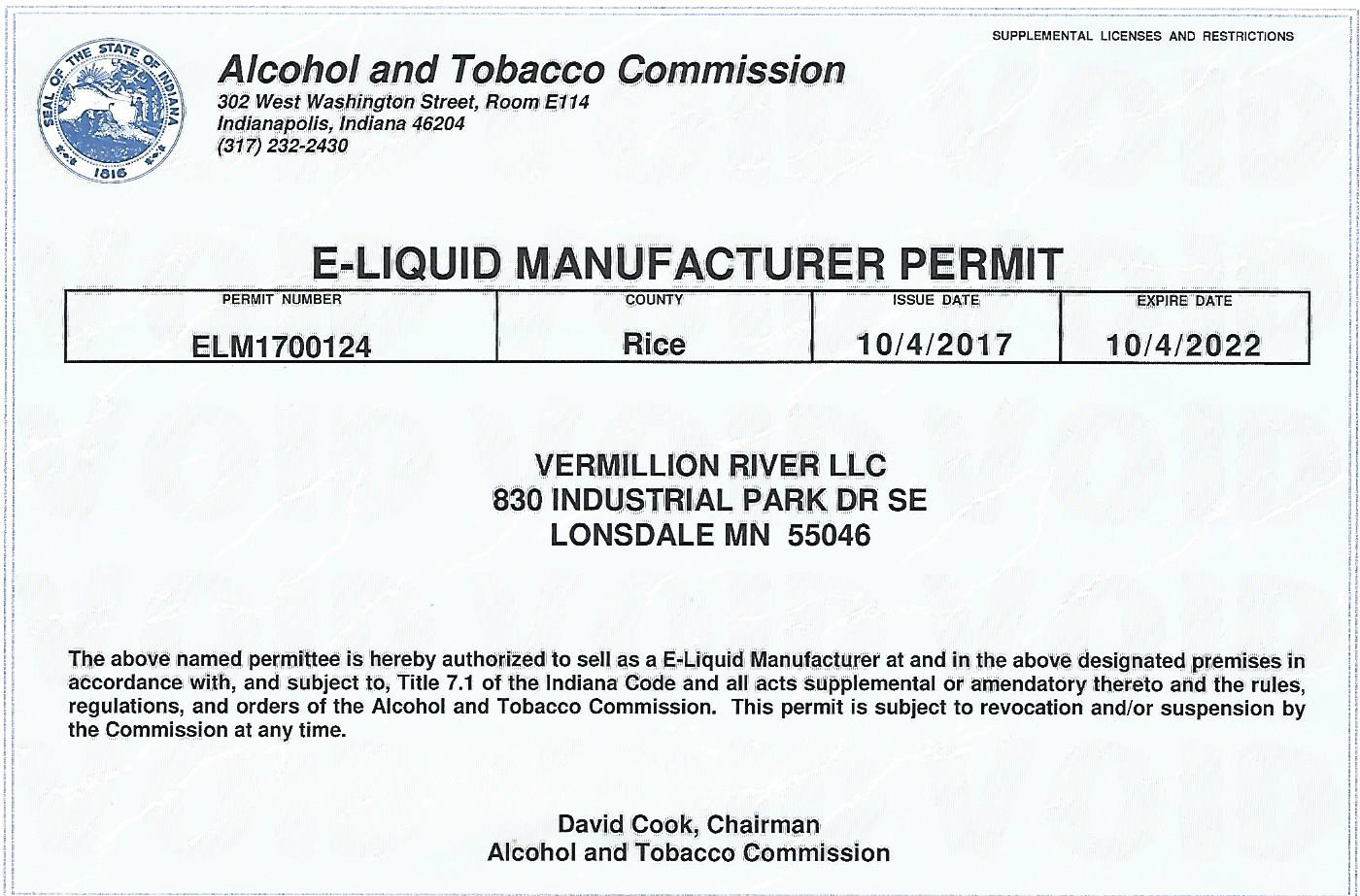 Vape Juice, Tanks, and Coils | Vermillion River Premium E-Juice