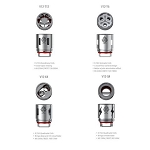 Smoktech TFV12 Replacement Coils (1 Coil)